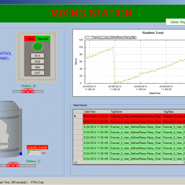 HỆ THỐNG SCADA MIXING STATION