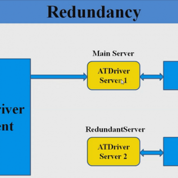 Auto ATDriver server reconnection and redundant ATDriver server