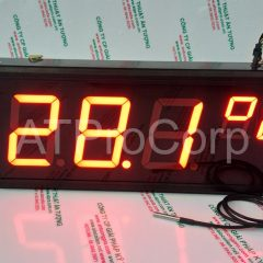 TEMPERATURE LED DISPLAY MODEL AT-TMT-L