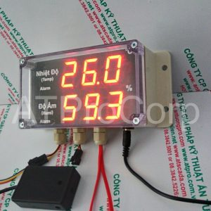 TEMPERATURE AND HUMIDITY MONITORING CONTROLLER (MODEL: AT-THMS 3.1)