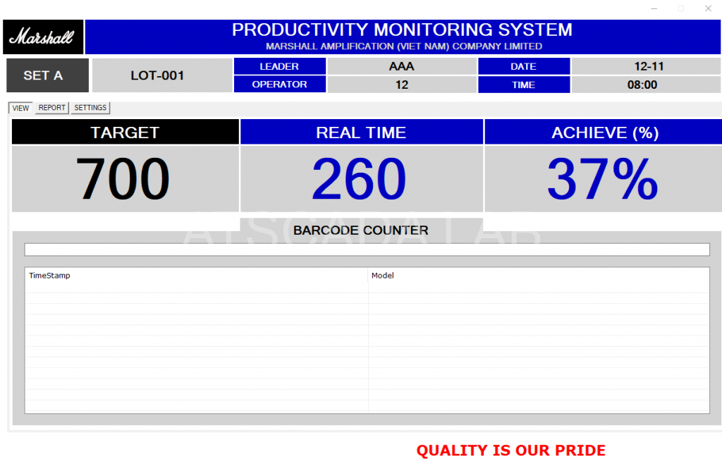 production management-software-manager-view